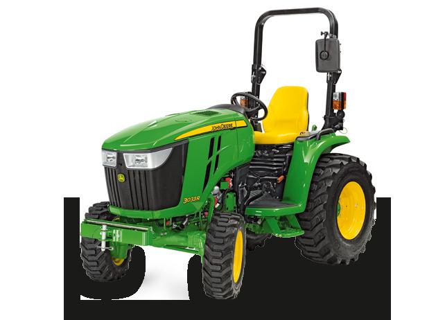 John Deere 3033R 3 Series Compact Utility Tractors