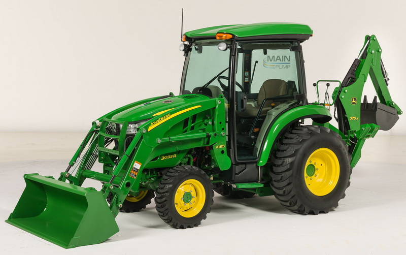 MainPump: Versatile John Deere 3 Series compact utility tractors