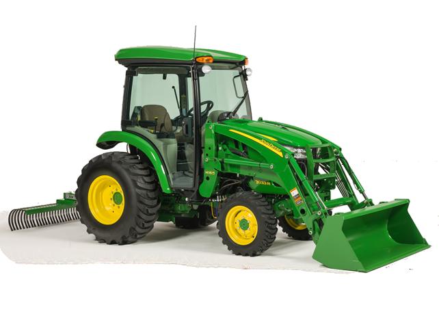John Deere 3 Family Compact Utility Tractors   3E 3R Series   Holland ...