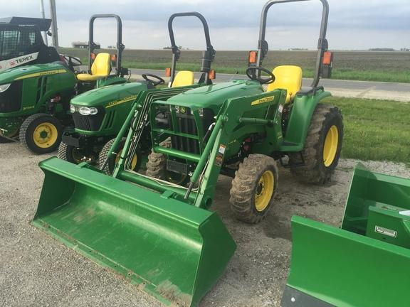 Compact Utility Tractors : John Deere 3038E