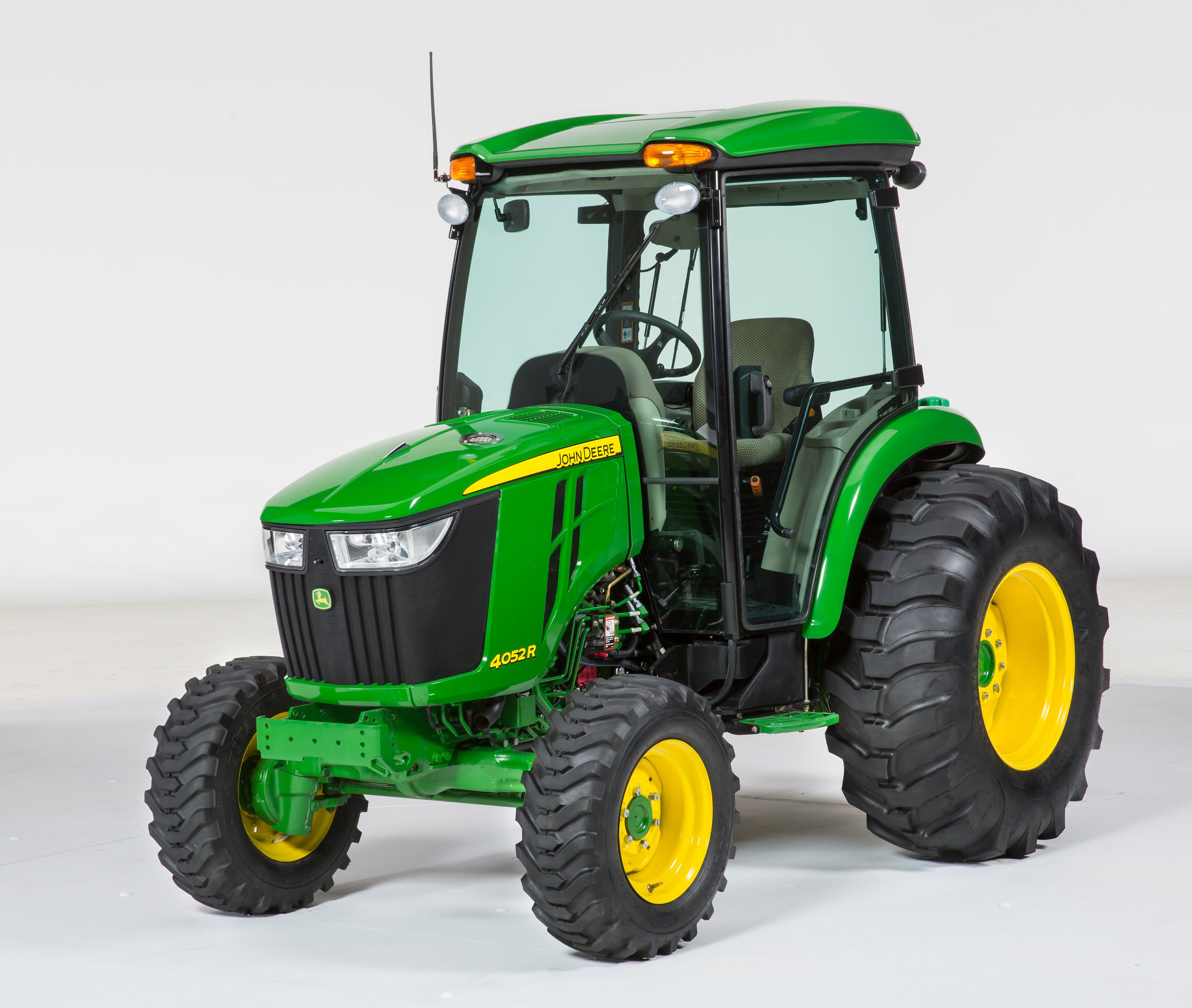 The new 4052R Compact Utility Tractor is featured here with the ...