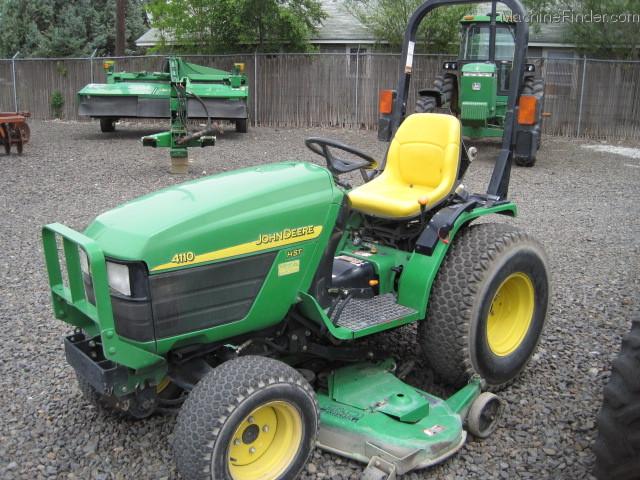 2002 John Deere 4110 Tractors - Compact (1-40hp.) - John Deere ...
