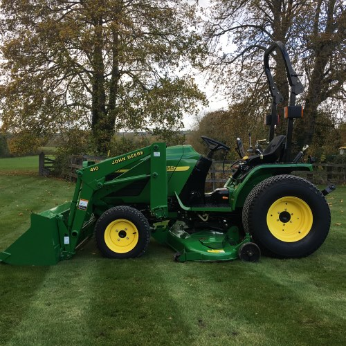 John Deere 4115 Compact Tractor - Bertie Green