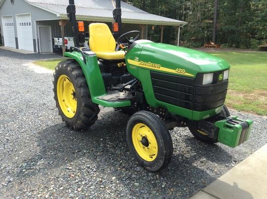 2003 John Deere 4210 Tractors - Compact (1-40hp.) - John Deere ...