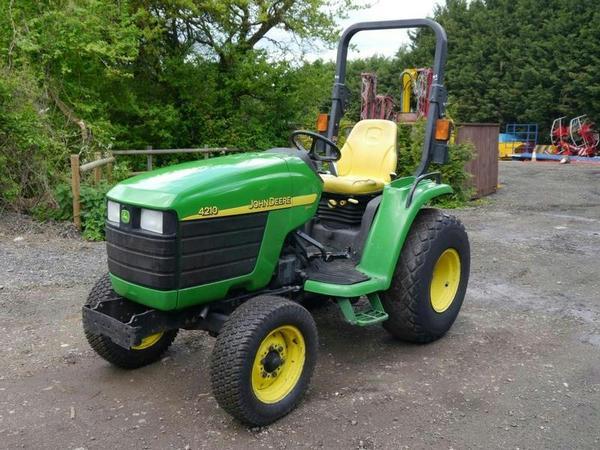 2003 JOHN DEERE 4210 Compact Tractor Tractors in Boxford | Auto Trader ...