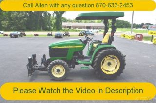 2003 John Deere 4310 Tractor Hydro Snow Plow Pu Available photo