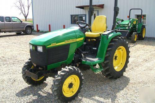 John deere 4310 4WD compact tractor - 287 hrs
