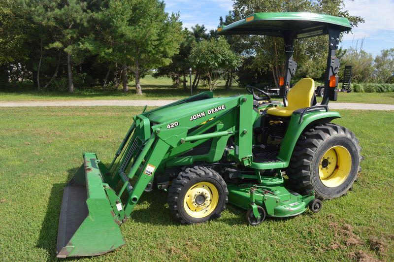 2004 John Deere 4310 Tractors   Anthony Puglisi Gambrills, MD