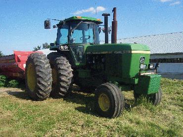 1980 John Deere 4460 Tractor (Details)