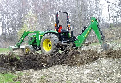 Tractors currently owned and operated