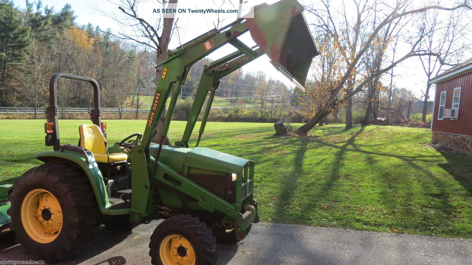 2003 John Deere 4610 4x4 Compact Tractor W/ Loader Hydrostatic 43 Hp ...