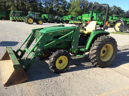 2002 John Deere 4610 - Compact Utility Tractors | Used Agricultural ...