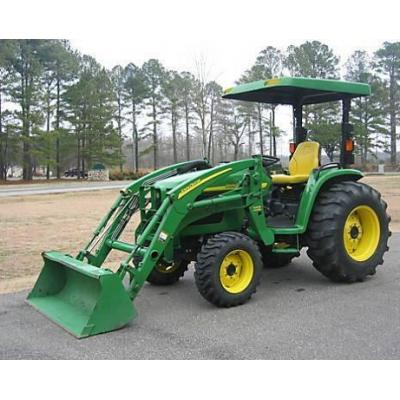 4,410 = 2004 John Deere 4710 4WD Full Attachments | agricultural ...