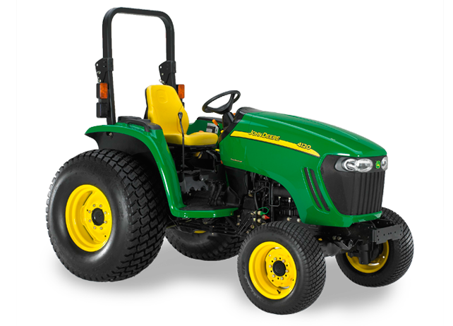 John Deere 4120 Compact Utility Tractor 4000 Series Compact Utility ...