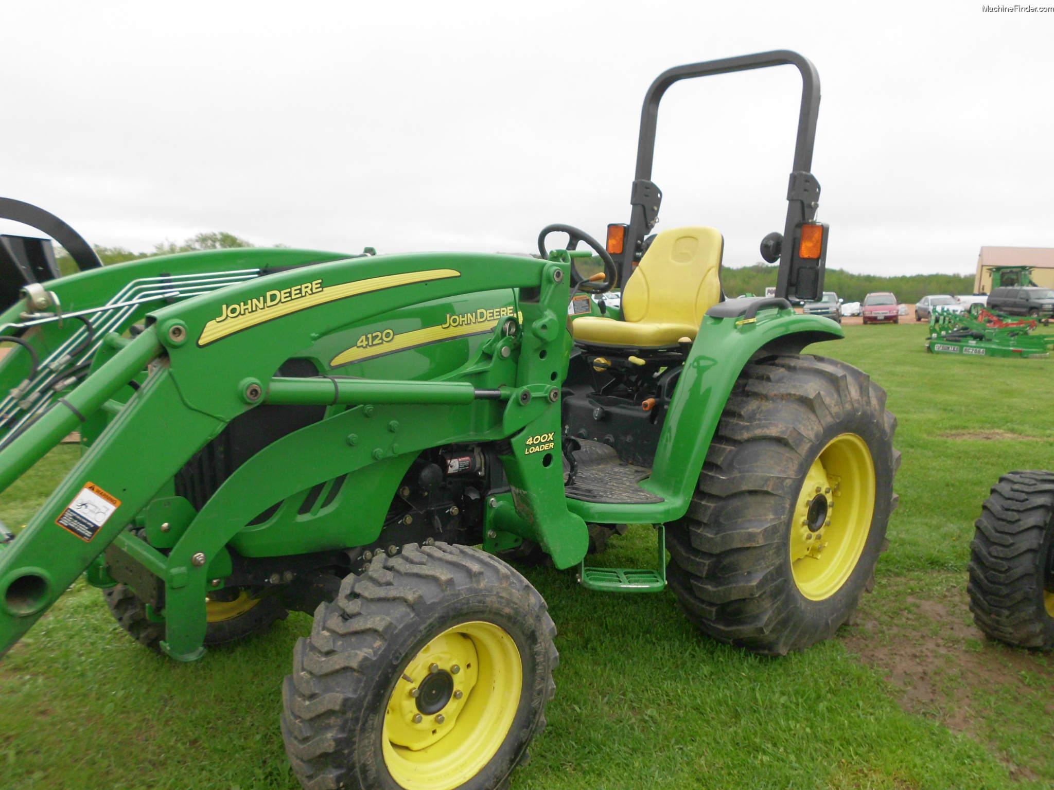 2004 John Deere 4120 Tractors - Compact (1-40hp.) - John Deere ...