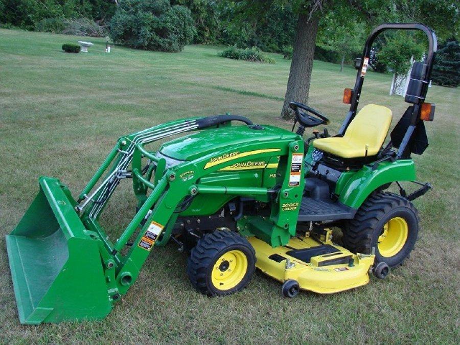 2007 John Deere 2305 Sub Compact Utility Tractor Ricer Equipment ...