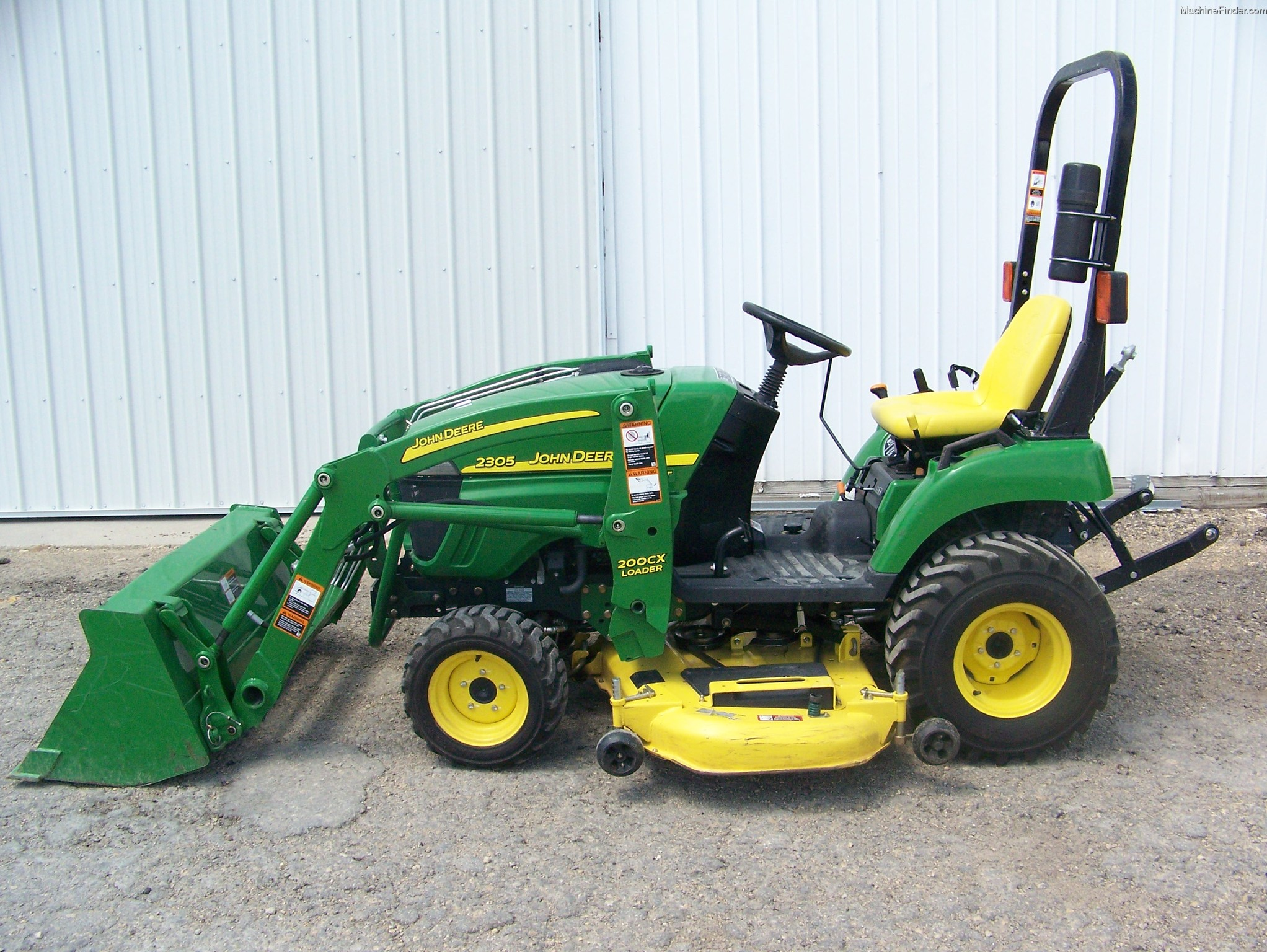 2010 John Deere 2305 Tractors - Compact (1-40hp.) - John Deere ...