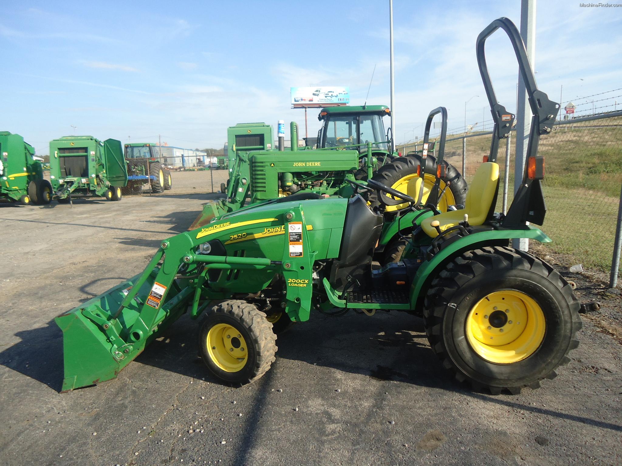 2008 John Deere 2520 Tractors - Compact (1-40hp.) - John Deere ...