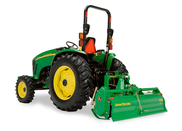 John Deere 4520 Compact Utility Tractor 4000 Series Compact Utility ...