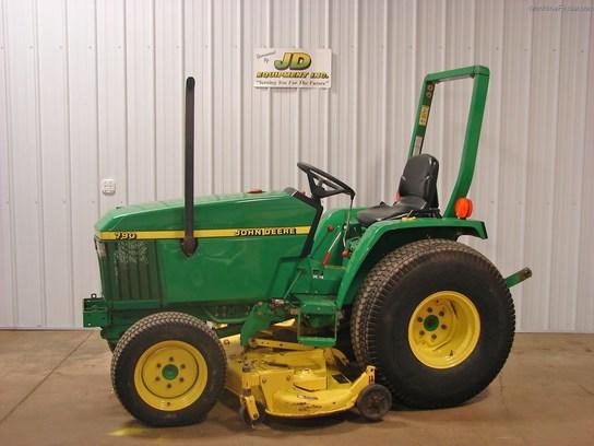 1999 John Deere 790 Tractors - Compact (1-40hp.) - John Deere ...