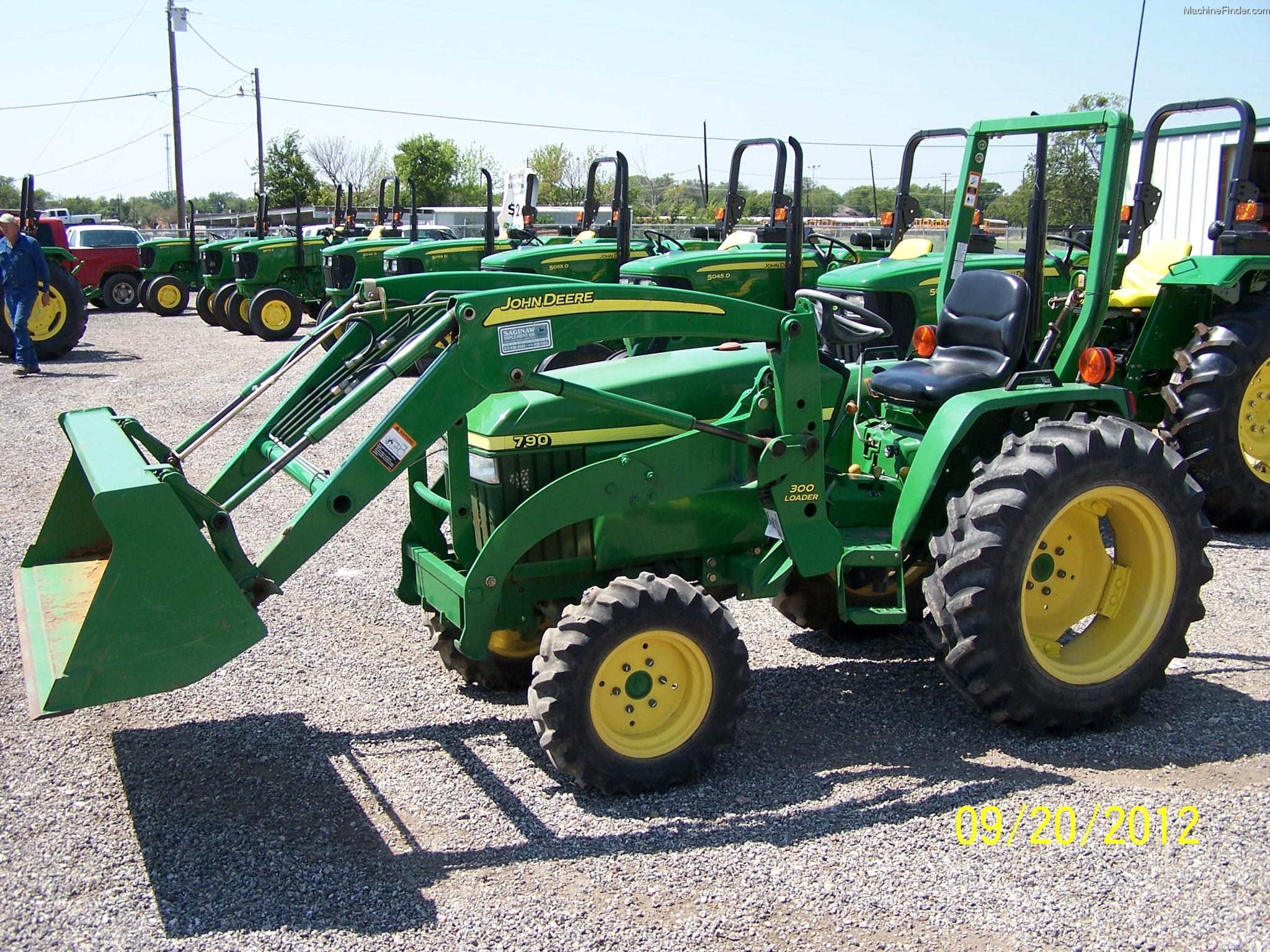 2006 John Deere 790 Tractors - Compact (1-40hp.) - John Deere ...