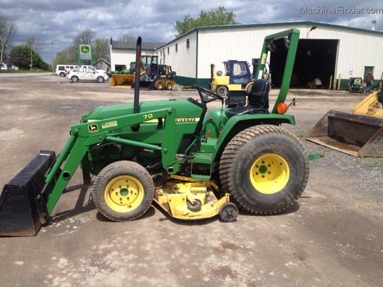 2000 John Deere 790 Tractors - Compact (1-40hp.) - John Deere ...