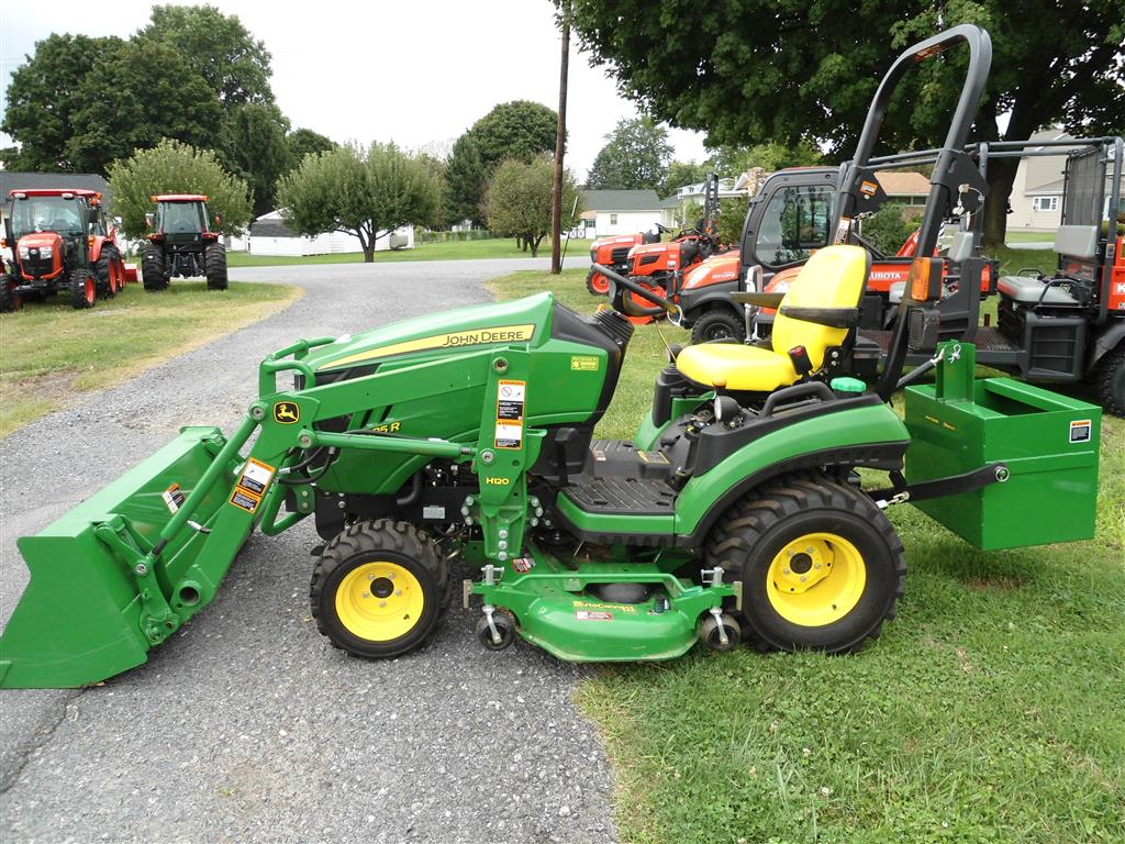 Pics Photos - 2013 John Deere 1025r Sub Compact Utility Tractor