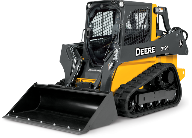 Compact Track Loader with cooling system | 319E | John Deere US