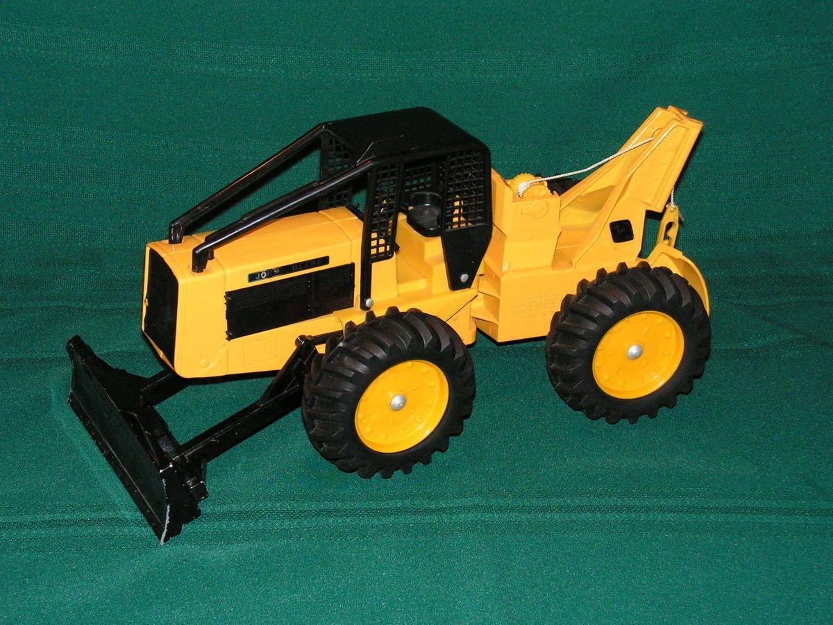 John Deere Toy Log Skidder Ertl Stock No 590 1 16 Scale ...