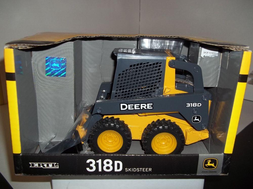 ERTL JOHN DEERE 318D SKID STEER 1/16 SCALE | eBay