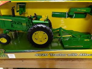 NEW-John-Deere-Big-Farm-Series-4020-Tractor-w-Attachments-1-16-LP51312