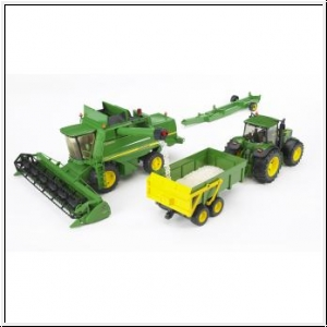 BRUDER John Deere Combine harvester T670i - Gut und Günstig 24