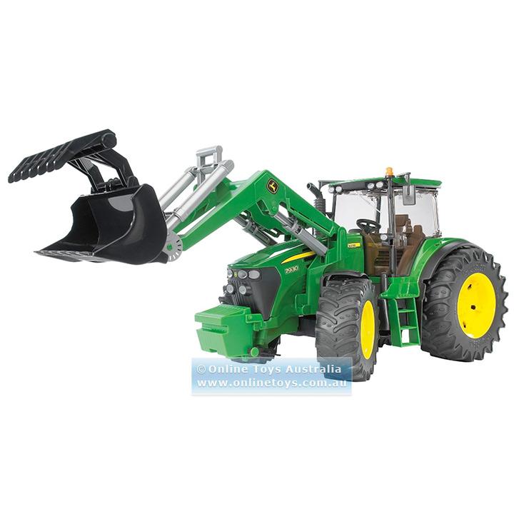 Bruder - John Deere 7930 Tractor with Front Loader - Online Toys ...