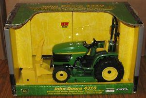 John-Deere-4310-Tractor-w-ROPS-Snowthrower-Mower-Deck-1-16-Ertl-Toy ...