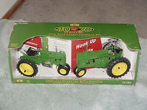 ERTL-1-16-JOHN-DEERE-40-AND-70-TRACTOR-50TH-ANNIVERSARY-CE-SET-NIB