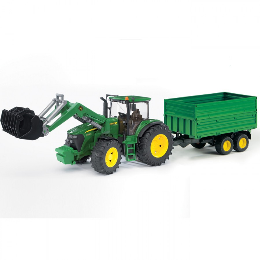 Bruder John Deere 7930 Tractor with Loader and Trailer | Charlies ...