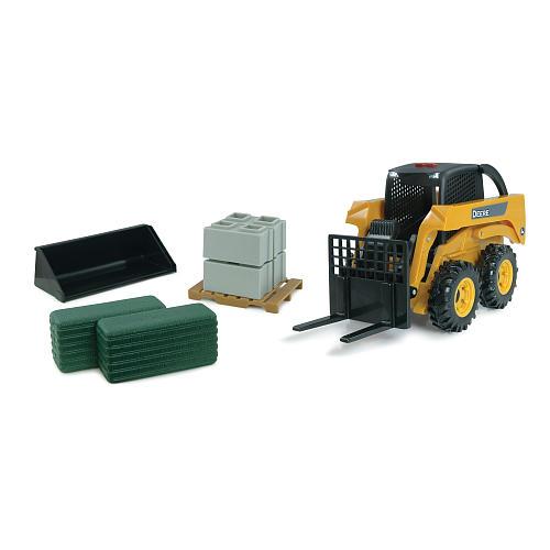 John Deere Big Farm Skidsteer Set - TOMY - Toys
