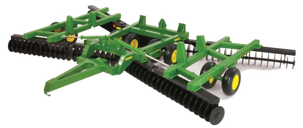45408 1/16 John Deere 637 Flex-Fold Disk | Action Toys