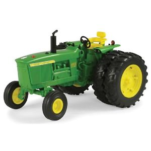John-Deere-1-16-Scale-4020-Big-Farm-Plastic-Tractor-Dual-Rear-Wheels ...