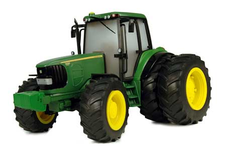 John Deere Big Farm 7430 Tractor with Duals and Lights N Sound - 35633