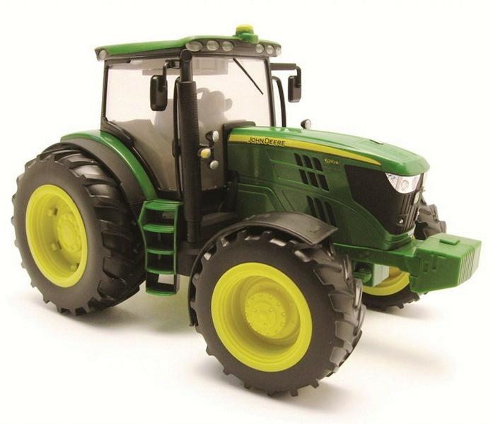 ... Big Farm Toy Tractor - with Lights & Sounds 1:16 Model -John Deere etc
