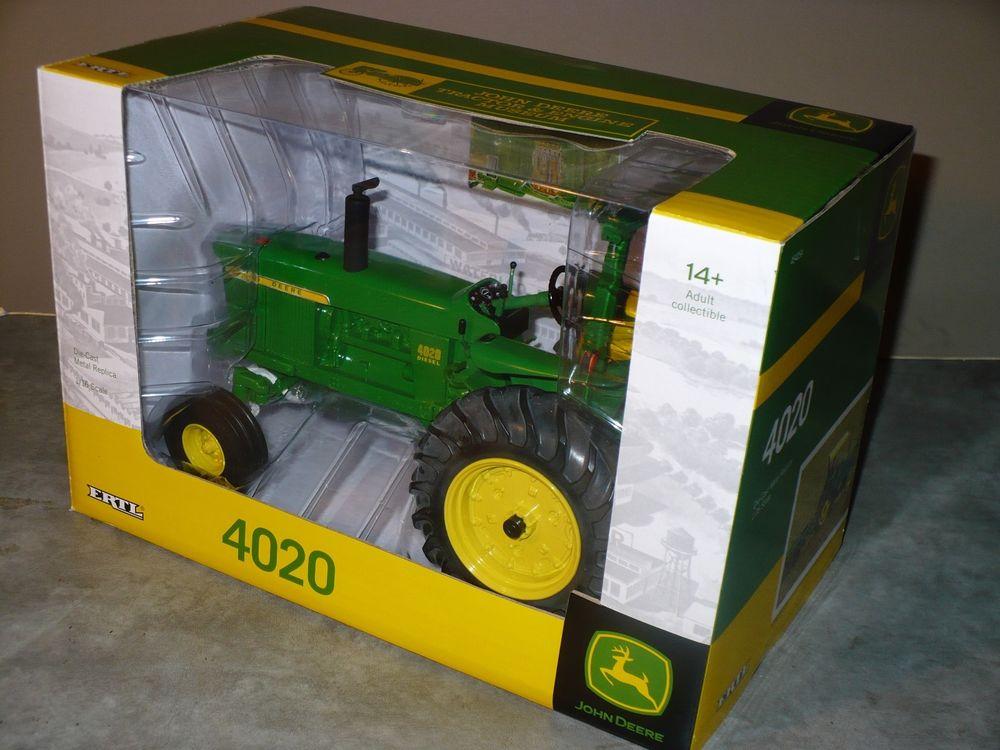 4020 1/16 Toy Tractor JOHN DEERE TRACTOR & ENGINE MUSEUM Edition Ertl ...