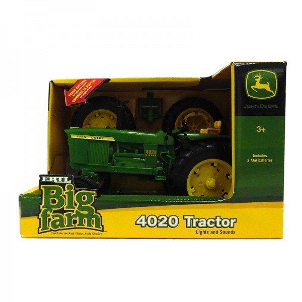 Home 1:16 Scale John Deere Big Farm 4020 Wide Front Tractor