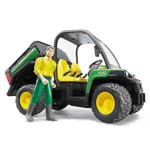 John Deere Bruder 1/16 Gator XUV 855D and Driver   eBay