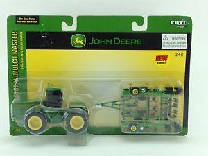 64 ERTL JOHN DEERE 8970 TRACTOR W/ 550 MULCH MASTER | eBay