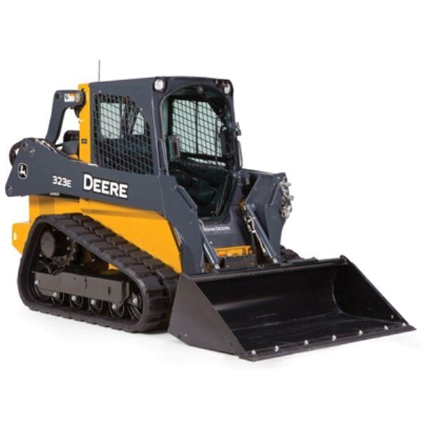 John Deere 1/16 Scale 323E Compact Track Loader Ertl/Tomy Diecast ...