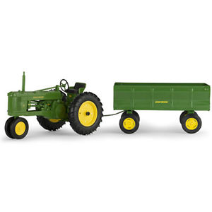 Details about NEW John Deere Model 50 Tractor w/Flare Box Wagon, 1/16 ...