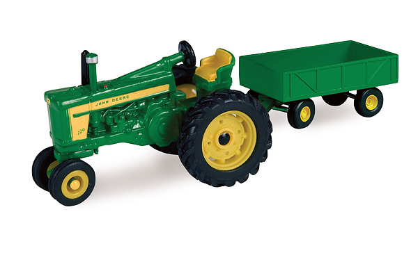 John Deere 720 Tractor with Barge Wagon, Farm Toys Inc