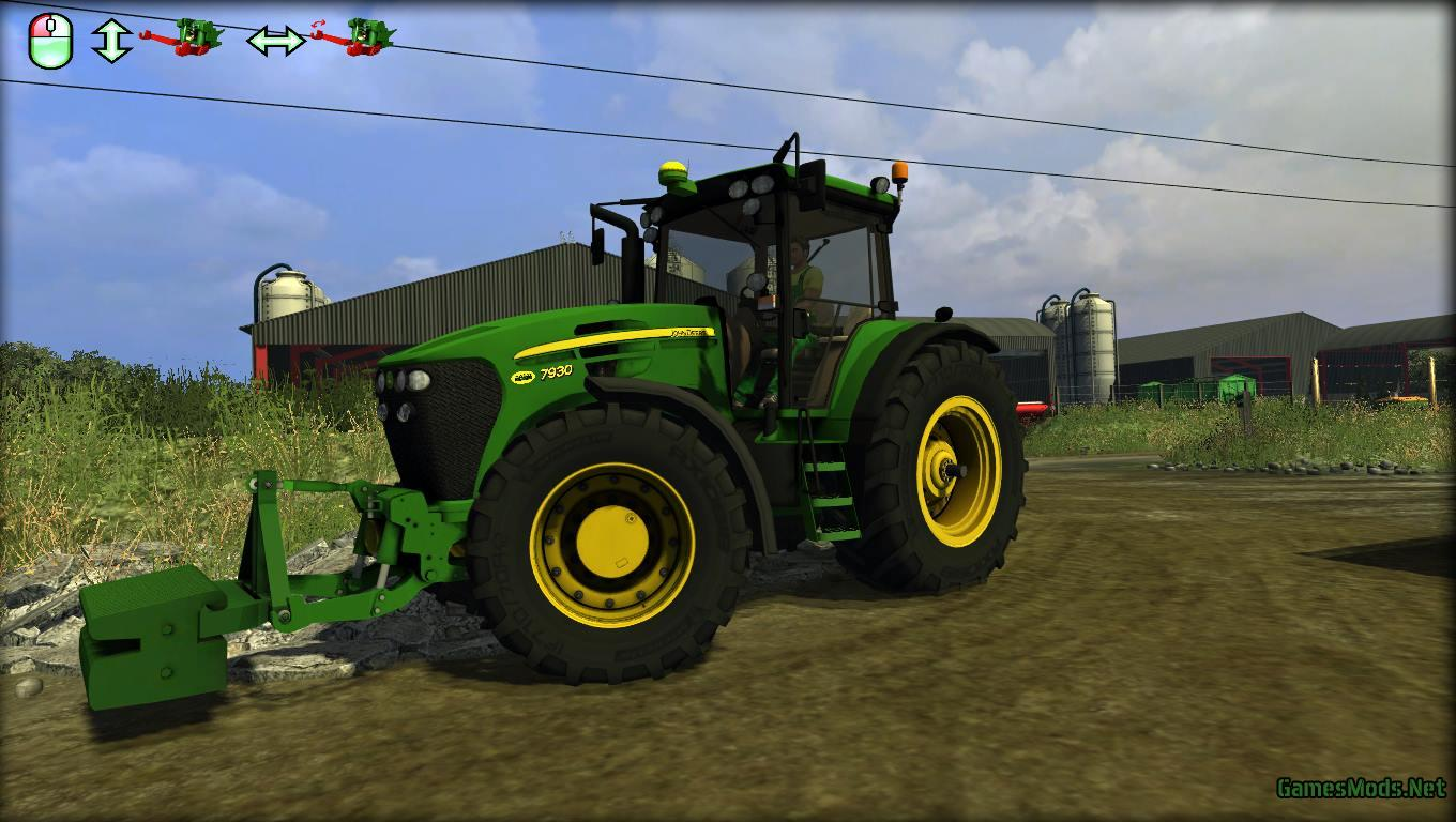 JOHN DEERE 7930 + WEIGHT » GamesMods.net - FS17, CNC, FS15, ETS 2 ...
