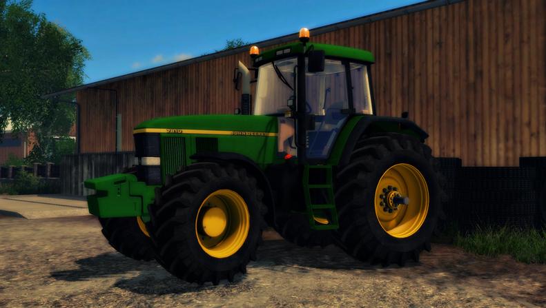 John Deere 7810 WEIGHT V 2.0 - Farming Simulator 2015 / 2017 mods